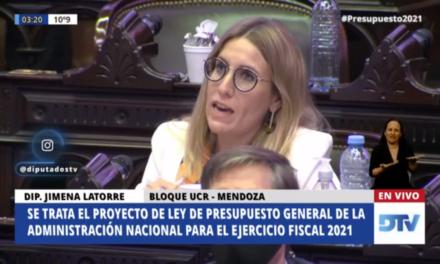 Jimena Latorre: Presupuesto 2021 en política energética