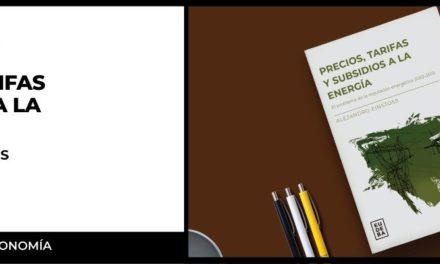 Alejandro Einstoss – Presentación del libro: «Precios, tarifas y subsidios a la energía»