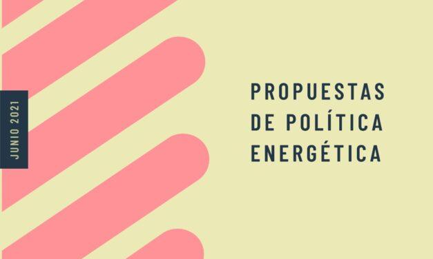 Propuestas de Polìtica Energètica